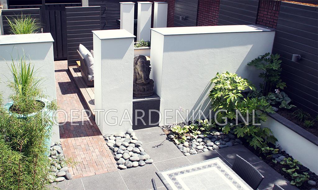 Strakke tuin lounge tuin koert gardening in veldhoven for Strakke kleine tuin